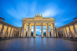 brandenburg gate monument berlin city germany